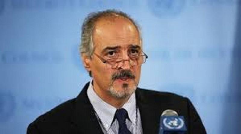 رئيس وفد الحكومة السورية في محادثات جنيف بشار الجعفري