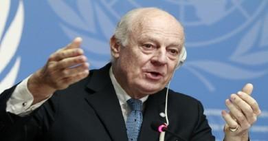 مبعوث الأمم المتحدة ستافان دي ميستورا