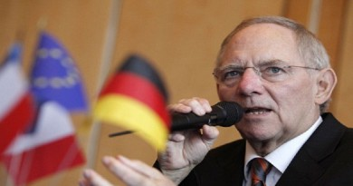 وزير المالية الألماني فولفجانج شيوبله