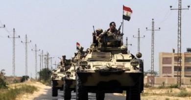 عملية برية واسعة شمالي سيناء