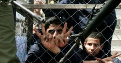 100 أسير قاصر في سجن مجدو التابع للاحتلال الإسرائيلي