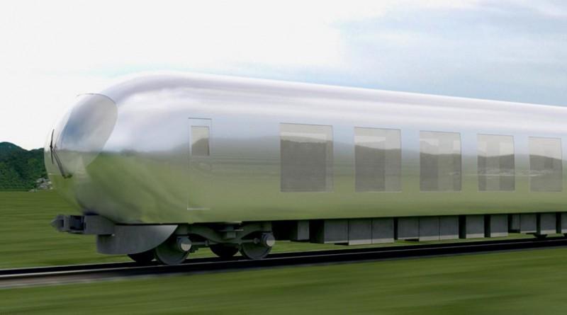 """اليابان تصمم قطارا """"خفيا"""""""