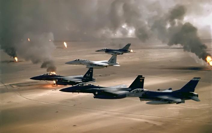 التحالف الدولي ينفذ 24 ضربة جوية ضد داعش في سوريا والعراق