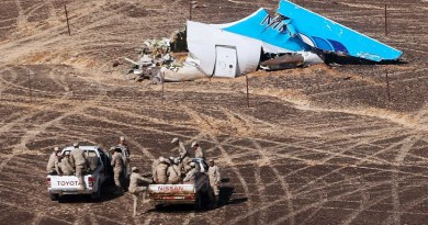 كشف سرية تحقيقات أمن الدولة بخصوص الطائرة الروسية