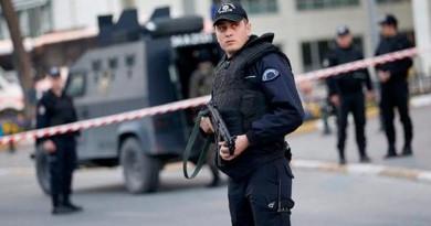قوات الأمن التركية