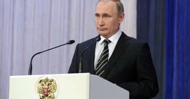 """تعليق بوتين على """"وثائق بنما"""""""
