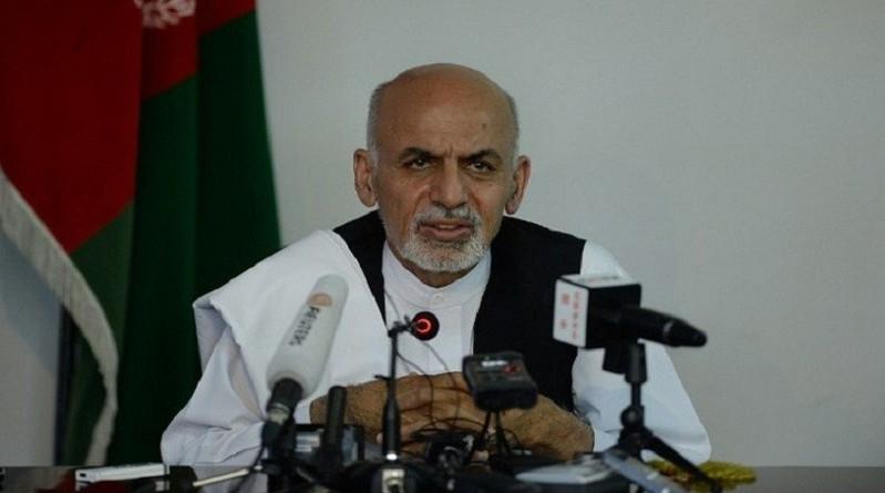 الرئيس الأفغاني أشرف عبد الغني