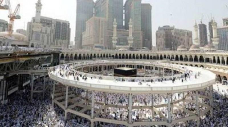 إزالة المطاف المؤقت من المسجد الحرام قبل رمضان