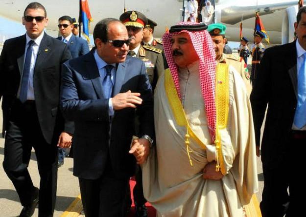 ملك البحرين يصل القاهرة في زيارة رسمية