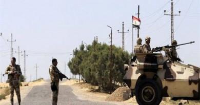 مقتل 17 إرهابيًا وتفجير مدرعة عسكرية في سيناء