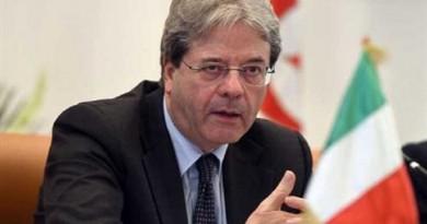 """وزير الخارجية الإيطالي """"باولو جينتيلوني"""""""
