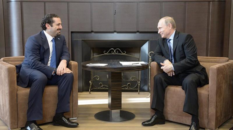بوتين يلتقي سعد الحريري