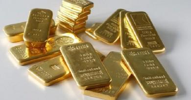 سبائك ذهبية في بنك في زوريخ