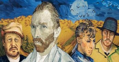 لأول مرة في التاريخ فيلم روائي طويل أبطاله لوحات فنية لفان غوخ