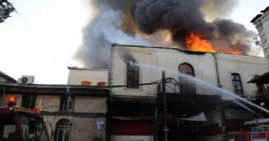 حريق دمشق القديمة.. أصابع الاتهام تشير إلى إيران