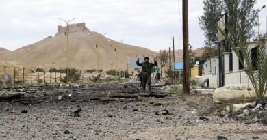 وكالة: العثور على مقبرة جماعية بها أكثر من 40 جثة بمدينة تدمر