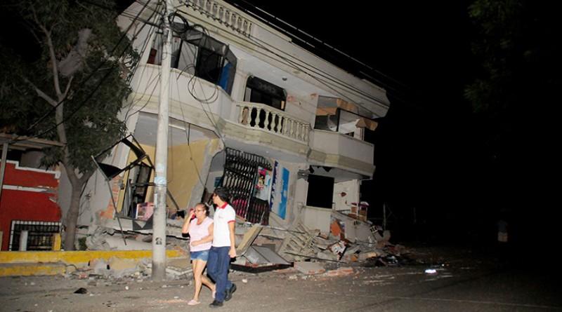 ارتفاع حصيلة زلزال الاكوادور لـ 41 قتيلًا