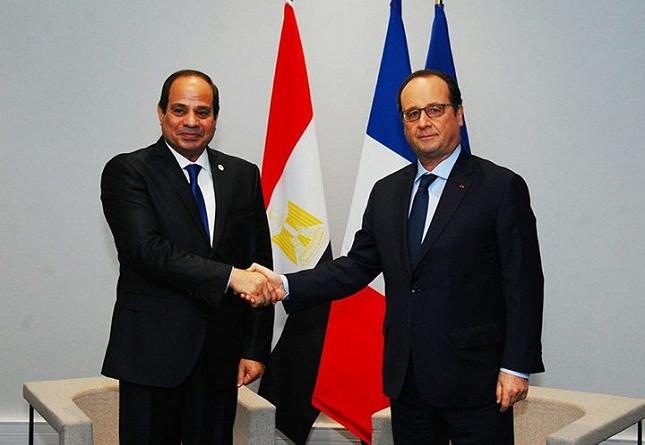 سفير مصر بباريس: زيارة أولاند إلى القاهرة تعكس العلاقات الاستراتيجية بين البلدين