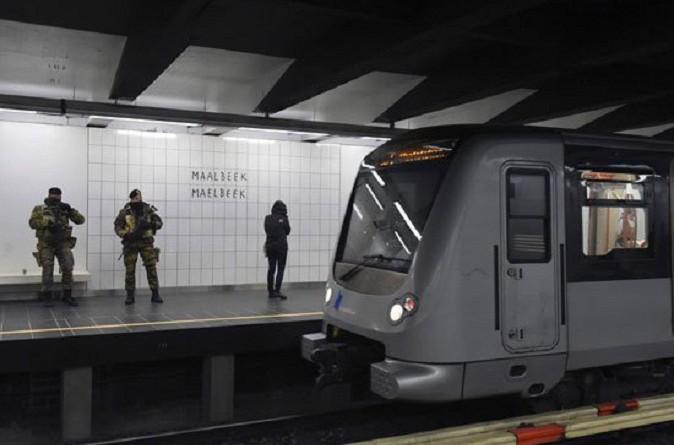 إعادة فتح محطة مترو في بروكسل تعرضت للهجوم