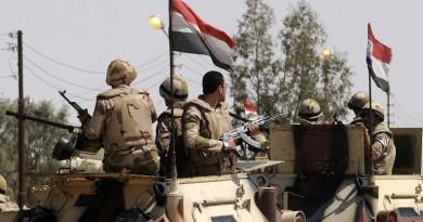 مقتل 3 جنود في هجوم إرهابي شمال سيناء