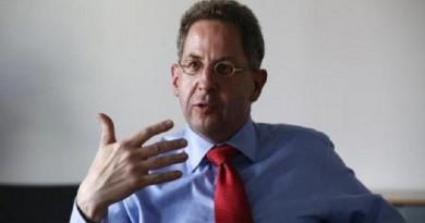 هانز جورج ماسن رئيس جهاز المخابرات الداخلية الألماني (بي.إف.في)