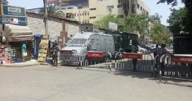 الأمن يغلق الشوارع المؤدية لنقابة الصحفيين