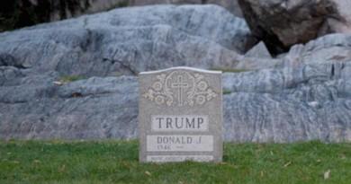 قبر دونالد ترامب