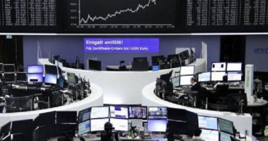 انخفاض الأسهم الأوروبية وهبوط اتش آند ام بسبب المبيعات