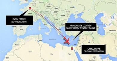 معلومات عن رحلة الطائرة المصرية المفقودة