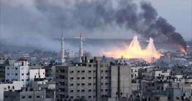 تواصل القصف الاسرائيلى لغزة