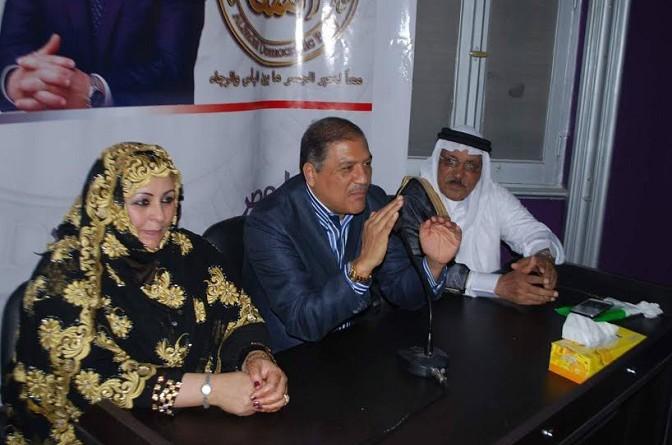 عفت السادات خلال لقائه بقيادات القبائل العربية : لا يوجد لدينا مشاكل سياسية وازمتنا الحقيقة « إقتصادية » بحتة