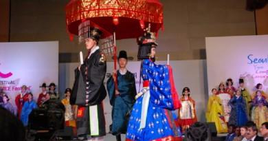 مهرجان الثقافة العربية فى سيئول يقيم عرضا للازياء الكورية والجزائرية
