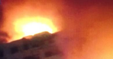عاجل : حريق هائل فى منطقة الرويعى بالموسكى