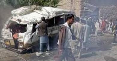 مصرع نحو 50 في تصادم حافلتين وصهريج وقود في أفغانستان