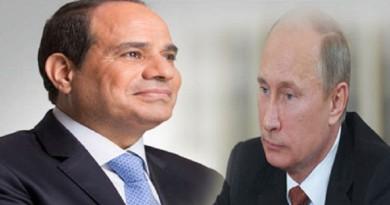 بوتين يبحث مع السيسي الوضع في سوريا وليبيا