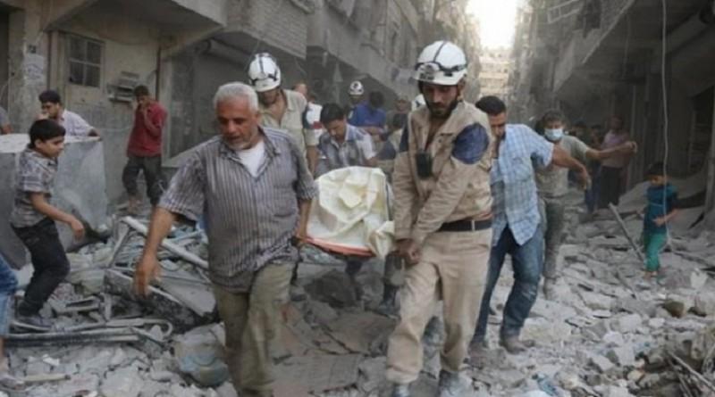 المرصد السوري: مقتل عشرة في ضربات جوية في إدلب