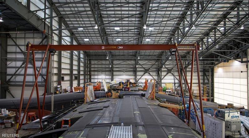 شركة فضاء أمريكية تدشن أكبر طائرة في العالم