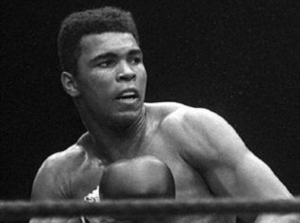 الملاكمة محمد علي كلاي