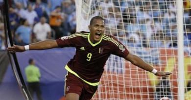 اللاعب الفنزويلي خوسيه سالومون روندون