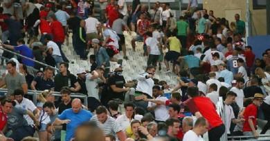 شغب الجماهير الروسي يورو 2016