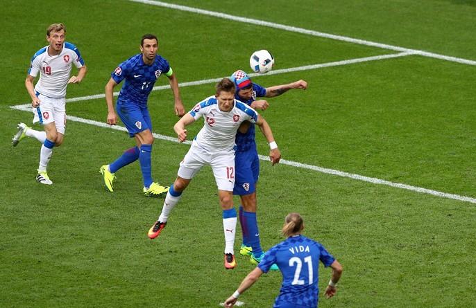 في اليورو.. التشيك تتعادل مع كرواتيا (صور)
