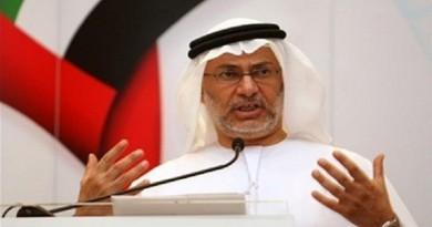 وزير الدولة للشؤون الخارجية في دولة الإمارات أنور قرقاش
