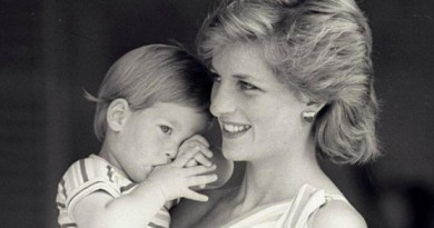 الأمير هاري والأميرة ديانا