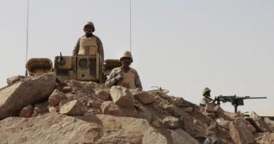 مصرع 7 جنود سعوديين في اشتباكات على حدود اليمن