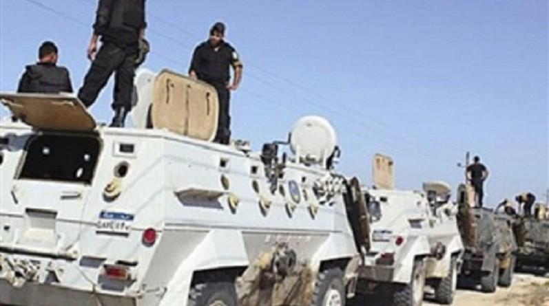 قوات الأمن في سيناء