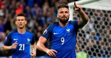 فرنسا تدك حصون أيسلندا بخمسية وتنهي مغامرتها في اليورو (صور)