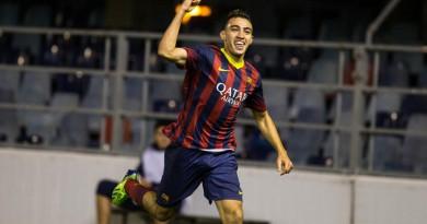 منير الحدادي لاعب برشلونة
