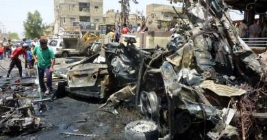 مصرع 14 شخصًا إثر تفجير سيارة ملغومة شمالي بغداد