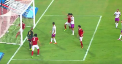 لقطة من مباراة الأهلي الوداد المغربي