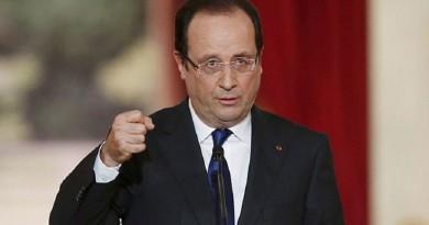 الرئيس الفرنسي فرنسوا هولاند